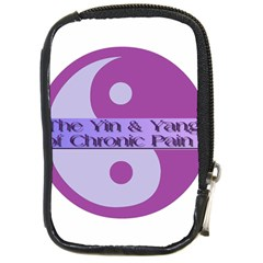 Yin & Yang Of Chronic Pain Compact Camera Leather Case