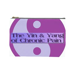 Yin & Yang Of Chronic Pain Cosmetic Bag (large)