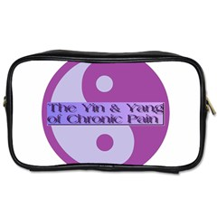 Yin & Yang Of Chronic Pain Travel Toiletry Bag (Two Sides)