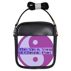 Yin & Yang Of Chronic Pain Girl s Sling Bag