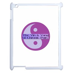 Yin & Yang Of Chronic Pain Apple iPad 2 Case (White)