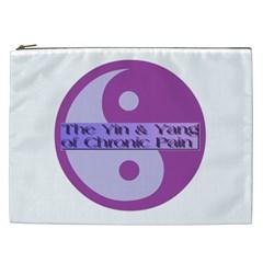Yin & Yang Of Chronic Pain Cosmetic Bag (XXL)