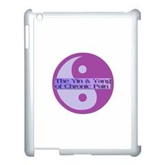 Yin & Yang Of Chronic Pain Apple Ipad 3/4 Case (white)