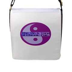 Yin & Yang Of Chronic Pain Flap Closure Messenger Bag (large)
