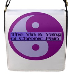 Yin & Yang Of Chronic Pain Flap Closure Messenger Bag (Small)
