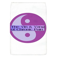 Yin & Yang Of Chronic Pain Removable Flap Cover (Small)