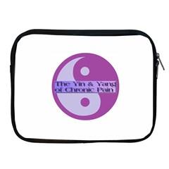 Yin & Yang Of Chronic Pain Apple iPad Zippered Sleeve