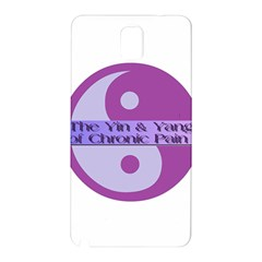 Yin & Yang Of Chronic Pain Samsung Galaxy Note 3 N9005 Hardshell Back Case