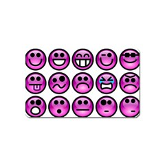 Chronic Pain Emoticons Magnet (Name Card)