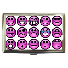 Chronic Pain Emoticons Cigarette Money Case