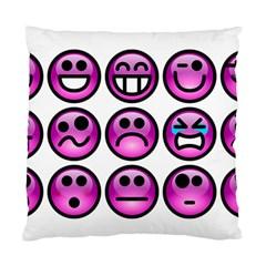 Chronic Pain Emoticons Cushion Case (Single Sided)