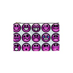 Chronic Pain Emoticons Cosmetic Bag (Small)