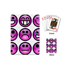Chronic Pain Emoticons Playing Cards (Mini)