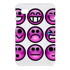 Chronic Pain Emoticons Samsung Galaxy Tab 7  P1000 Hardshell Case