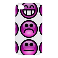 Chronic Pain Emoticons Apple iPhone 4/4S Premium Hardshell Case