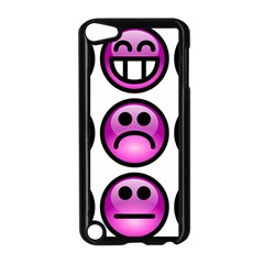 Chronic Pain Emoticons Apple iPod Touch 5 Case (Black)
