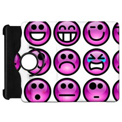 Chronic Pain Emoticons Kindle Fire HD 7  (1st Gen) Flip 360 Case