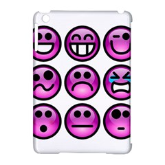 Chronic Pain Emoticons Apple iPad Mini Hardshell Case (Compatible with Smart Cover)