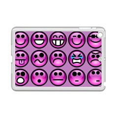 Chronic Pain Emoticons Apple iPad Mini 2 Case (White)