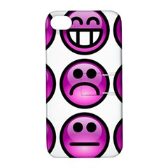 Chronic Pain Emoticons Apple iPhone 4/4S Hardshell Case with Stand
