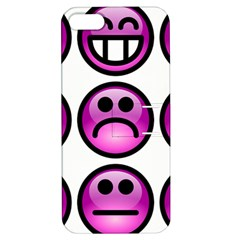 Chronic Pain Emoticons Apple iPhone 5 Hardshell Case with Stand