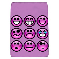 Chronic Pain Emoticons Removable Flap Cover (Large)