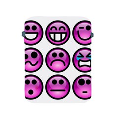 Chronic Pain Emoticons Apple iPad Protective Sleeve