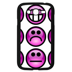 Chronic Pain Emoticons Samsung Galaxy Grand DUOS I9082 Case (Black)