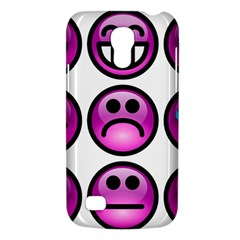 Chronic Pain Emoticons Samsung Galaxy S4 Mini (GT-I9190) Hardshell Case