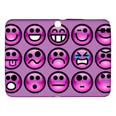 Chronic Pain Emoticons Samsung Galaxy Tab 3 (10.1 ) P5200 Hardshell Case