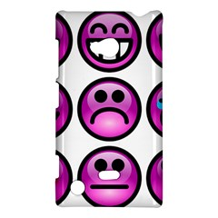 Chronic Pain Emoticons Nokia Lumia 720 Hardshell Case