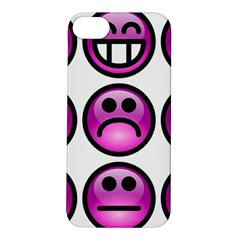 Chronic Pain Emoticons Apple iPhone 5S Hardshell Case