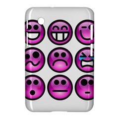 Chronic Pain Emoticons Samsung Galaxy Tab 2 (7 ) P3100 Hardshell Case