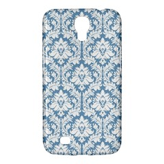 White On Light Blue Damask Samsung Galaxy Mega 6.3  I9200 Hardshell Case
