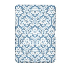 White On Light Blue Damask Samsung Galaxy Tab 2 (10.1 ) P5100 Hardshell Case