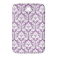 White On Lilac Damask Samsung Galaxy Note 8.0 N5100 Hardshell Case