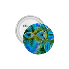 Mystical Spring, Abstract Crystal Renewal 1.75  Button