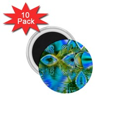 Mystical Spring, Abstract Crystal Renewal 1.75  Button Magnet (10 pack)