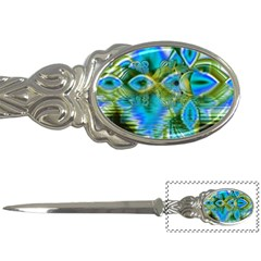 Mystical Spring, Abstract Crystal Renewal Letter Opener