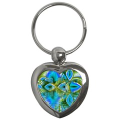 Mystical Spring, Abstract Crystal Renewal Key Chain (Heart)