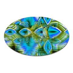 Mystical Spring, Abstract Crystal Renewal Magnet (oval)