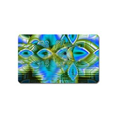 Mystical Spring, Abstract Crystal Renewal Magnet (Name Card)