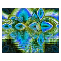Mystical Spring, Abstract Crystal Renewal Jigsaw Puzzle (Rectangle)