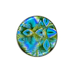 Mystical Spring, Abstract Crystal Renewal Golf Ball Marker 4 Pack (for Hat Clip)