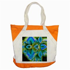 Mystical Spring, Abstract Crystal Renewal Accent Tote Bag