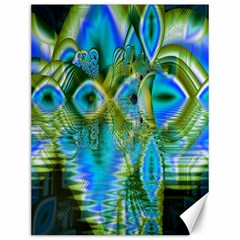 Mystical Spring, Abstract Crystal Renewal Canvas 12  x 16  (Unframed)