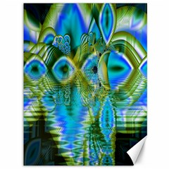 Mystical Spring, Abstract Crystal Renewal Canvas 36  x 48  (Unframed)
