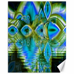 Mystical Spring, Abstract Crystal Renewal Canvas 11  x 14  (Unframed)