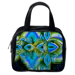 Mystical Spring, Abstract Crystal Renewal Classic Handbag (One Side)