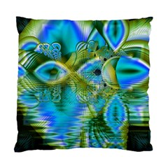Mystical Spring, Abstract Crystal Renewal Cushion Case (Single Sided)